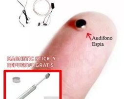 Micro Audifonos Inalambricos Invisibles Espia Android Iphone