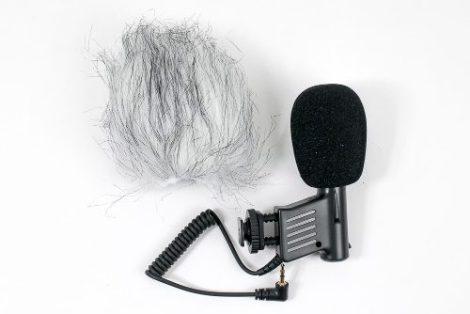 Microfono Profesional Condensador Smith Victor Para Camara