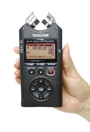 Tascam Dr40 Grabadora De Audio Portatil Dr 40 – Todo Video