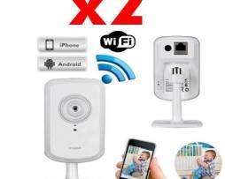 2 Camaras Seguridad Ip Dlink Dcs-930l Mic Wifi Rj45