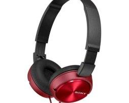 Audífonos Sony Rojos Originales Modelo Mdr-zx310/rquc
