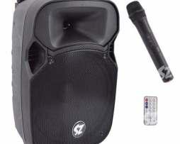 Bafle Bocina Amplificada 12 Bluetooth Recargable Fm Y Micro