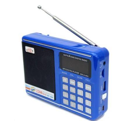 Bocina Digital Con Radio Am / Fm