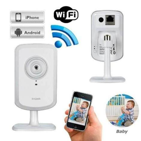 Camara Seguridad Ip Dlink Dcs-930l Mic Wifi Rj45