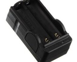 Cargador Carga Lenta Doble Pila Bateria 18650 De .3.7v    .