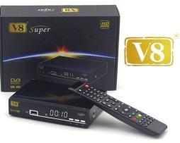 Freesat V8 Super Con Wifi Envio Gratis Y 5 Meses Azul Y Rojo