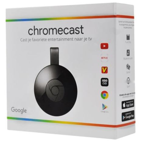 Google Chromecast 2nd Generacion (2015 Model) – Black – Nc2-