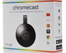 Google Chromecast 2nd Generacion (2015 Model) - Black - Nc2-