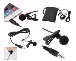 Microfono Lavalier Solapa Celular Iphone Android Envio Grati