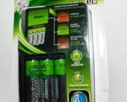 Paquete De Pilas Recargables Energizer ( 4 X Aa )+ Cargador