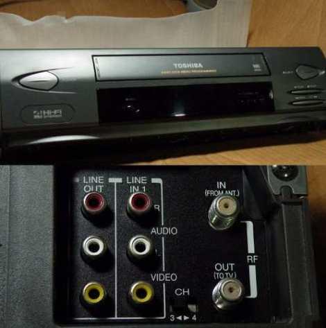 Videocaseteras Vhs Toshiba Perfecta Reproduccion