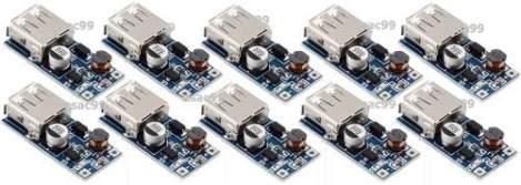 10 X Módulo Elevador De Voltaje Pfm Dc 5v Usb *promo*