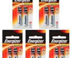 5 Paquetes De Pila Alcalina Aaaa Energizer Lr61 1.5v