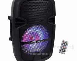 Bafle 8 Amplificado Activo Bluetooth Bocina Recargable Usb