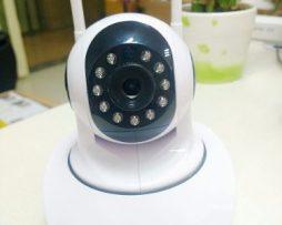 Camara Ip 360 Wifi Sensor Movimiento Alarma Pc/movil