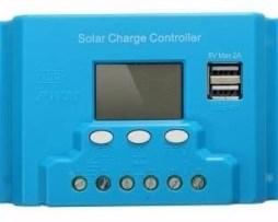 Controlador De Carga Solar 10a Sistema Fotovoltaico Con Usb