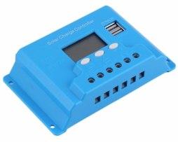 Controlador De Carga Solar 20a Sistema Fotovoltaico Con Usb