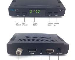 Freesat V7 Con Wifi Envio Gratis Y 3 Meses Azul + 3 Rojomx