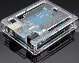Kit Basico Arduino R3 Uno Caja Acrilico Proto 400 Pts Leds