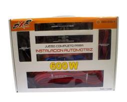 Kit De Instalación Profesional Calibre 4 C/cables Y Fusible