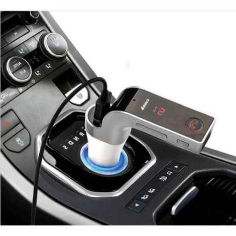 Transmisor Fm Bluetooth G7 Manos Libres Soporte Usb Micro Sd