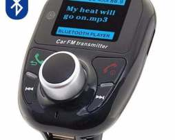 Transmisor Fm Bluetooth X Carpetas Manos Libres Envío Gratis