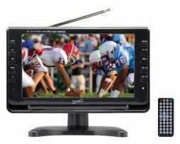 Tv Digital Portatil Pantalla Lcd 9 Pulgadas Usb Sd Monitor