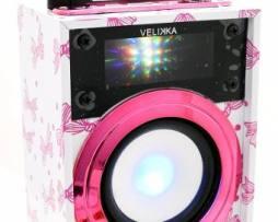 Velikka Bocina Recargable Usb Radio Fm Vkk-2028 Mini Moños