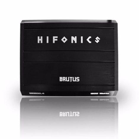 Amplificador Hifonics Br1200.4 Para Bocinas En Existencia