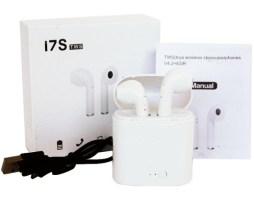Audifonos Bluetooth I7 Tws Tipo Airpod Audifonos Y Estuche