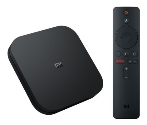 Xiaomi Mi Box S 4k Ultra Hdr Android Tv Box Global Negro