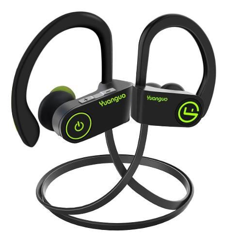 Audífonos Bluetooths Deporte Hd Ipx7 Contra Agua Sudor Negro