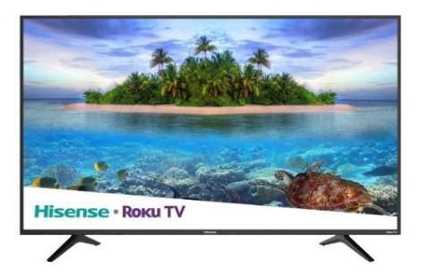 Nueva Smart Tv Pantalla Hisense Led 4k 55 Pulgadas Con Roku