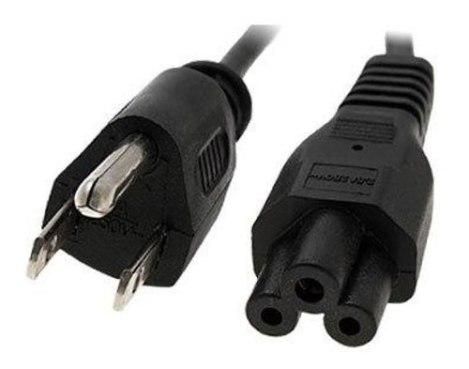 Cable Trifasico Trebol Mickey De Corriente 1.3m Cargador