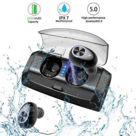 Audífonos Inalámbricos Con Bluetooth 5.0 Truedeep Bass