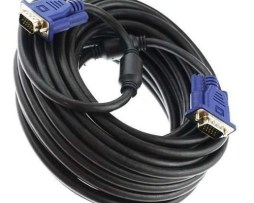 Cable Vga A Vga Macho / Macho 15 Metros Laptop Pc Proyector