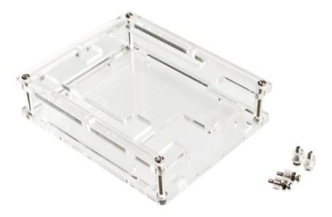 Caja De Acrílico Protector Gabinete Case Para Arduino Uno