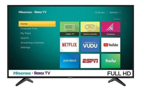 Smart Tv Hisense H4f Series  Full Hd 40  40h4030f