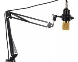 Base Escritorio Brazo Microfono Estudio Profesional Nb35