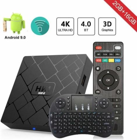 Decodificador De Tv Hk1 Android 9.0 2g De Ram 16g De Rom