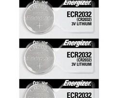 Pila Energizer Lto Cr2032 3v Tira C/5 Pzas 2032bp5