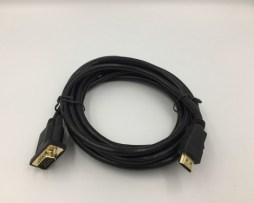 Cable Vga Macho Hdmi 3 Metros Laptop Pc Proyector Ca040