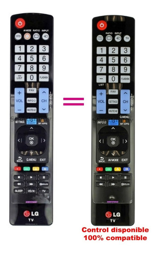 Control Remoto LG Smart Akb73756567 Envio Gratis + Pilas