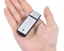 Microfono Espia Usb Spy Grabadora Voz De 8gb Duracion Hasta 19 Horas Graba Conversaciones