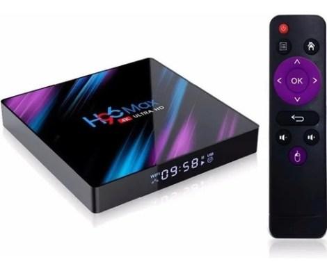 Tv Box Inteligente Android 10 Para Tv 4gb Ram 64gb H96 Max