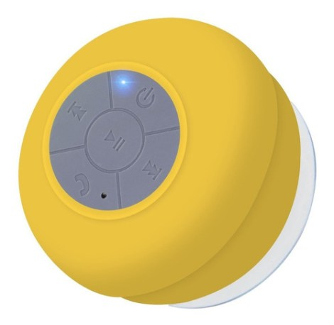 Bocina Slim Company Boc-reg-01 Portátil Con Bluetooth Amarillo 110v