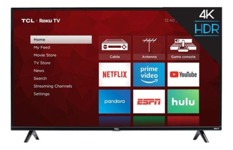 Smart Tv Tcl 4-series 55s425 Led 4k 55