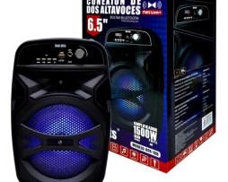Bocina Link Bits Rfr-108 Portátil Con Bluetooth Negra