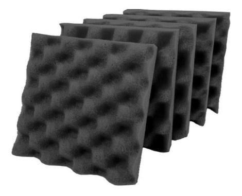 25 Paneles Esponja Acustica Espuma 20×20 Calidad Profesional