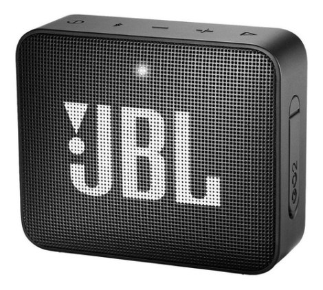 Bocina Jbl Go 2 Portátil Con Bluetooth Midnight Black